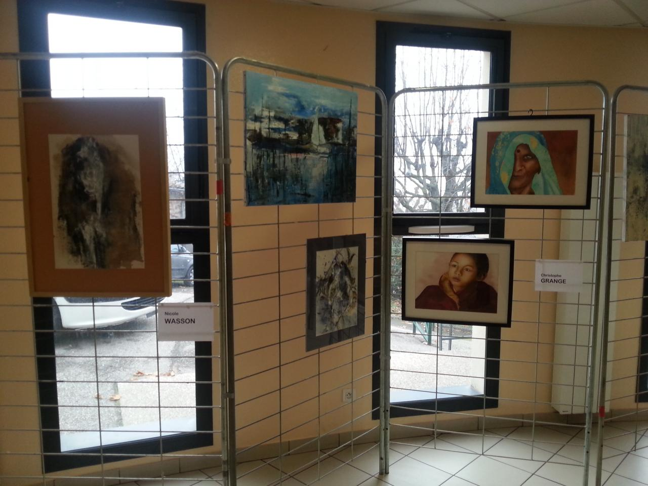 Exposition d'oeuvres d'artistes locaux
