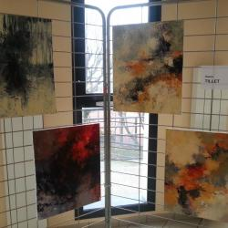 Expositions d'oeuvres d'artistes locaux