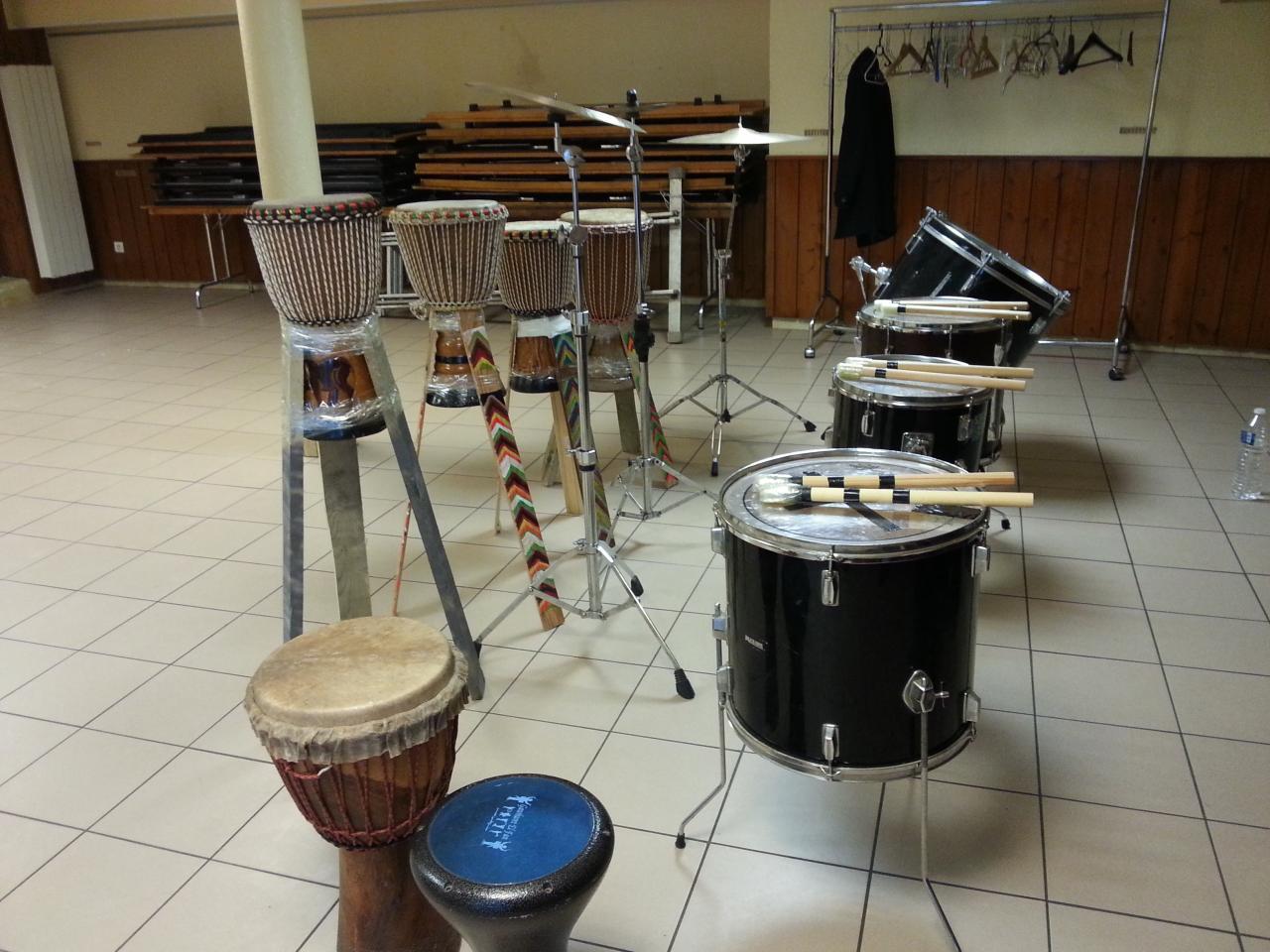Journée créative et festive du 27/11/2016  Percussions