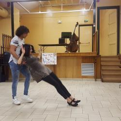 Nos 2 beaux danseurs en démo!