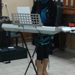 Christelle nous offre un chant, Merci!!