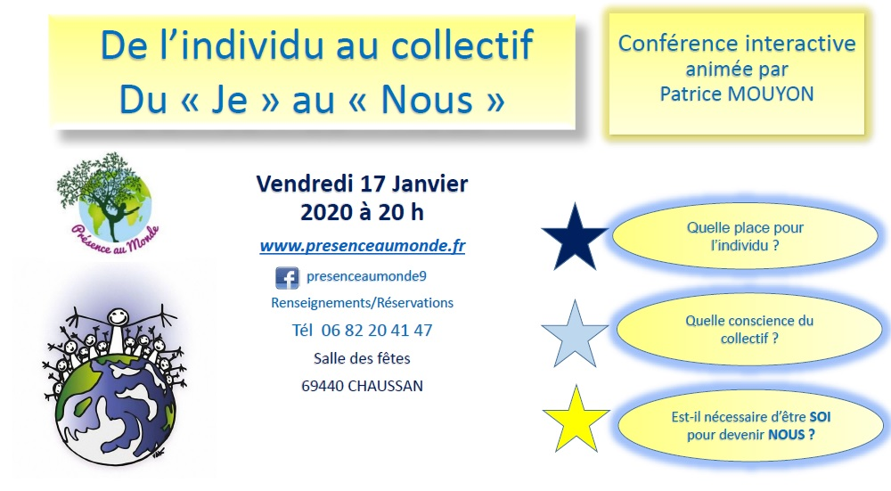 Conférence interactive!