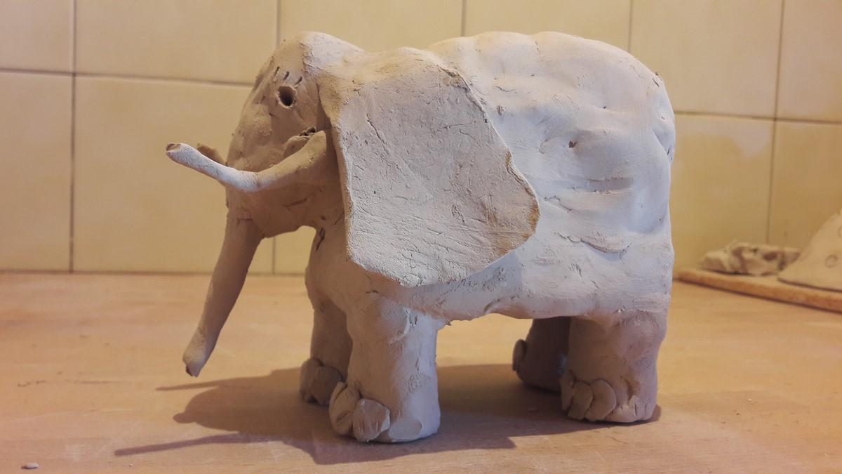 L'éléphant de Maria