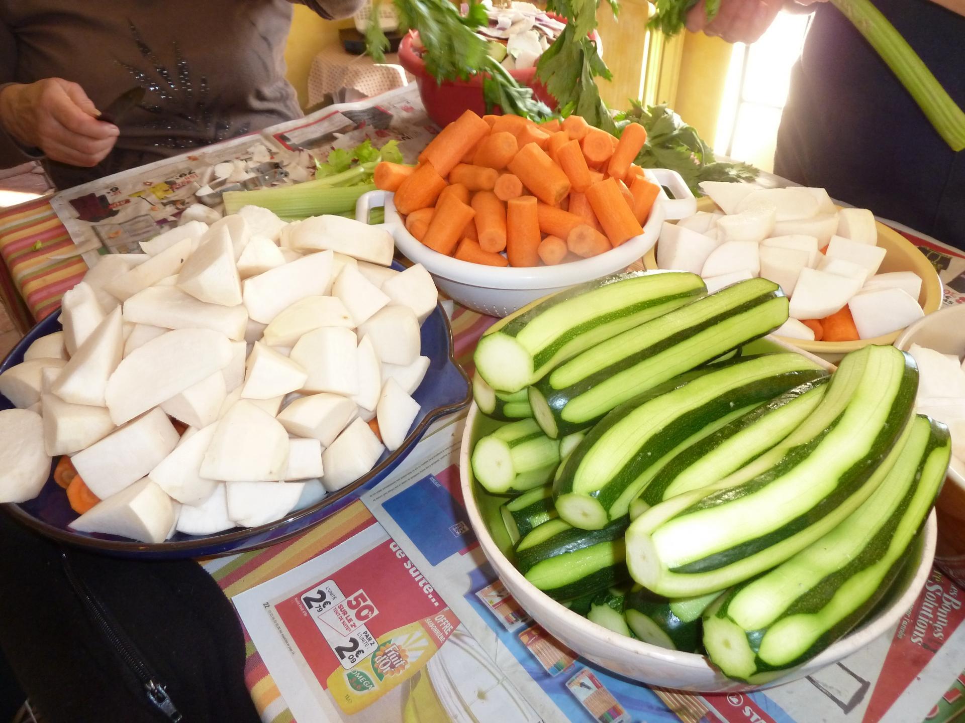 Les beaux légumes!