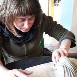Réalisation d'une dame aux cheveux longs