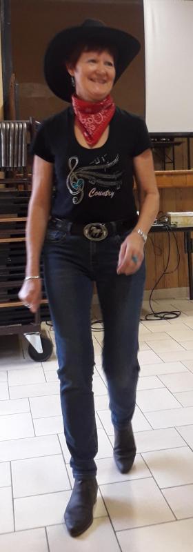 Chantal Rivoire :  Danse Country