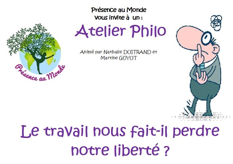 Atelier philo du 19 octobre