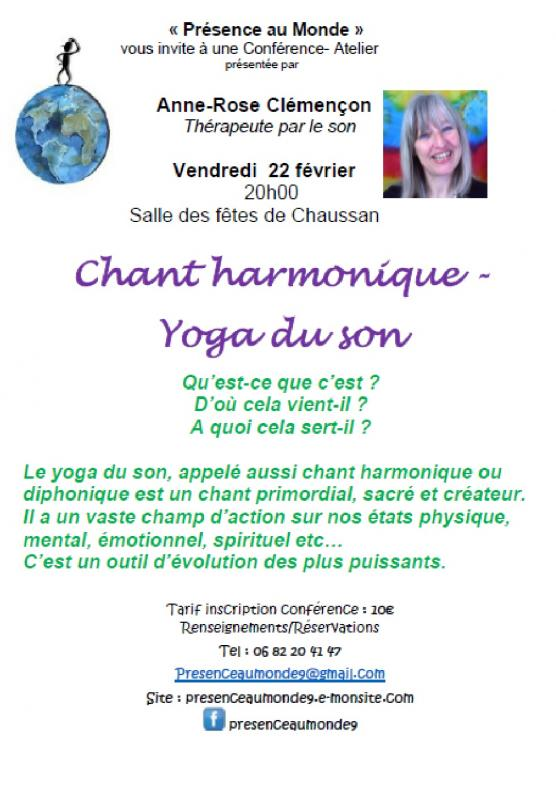 Chant harmonique