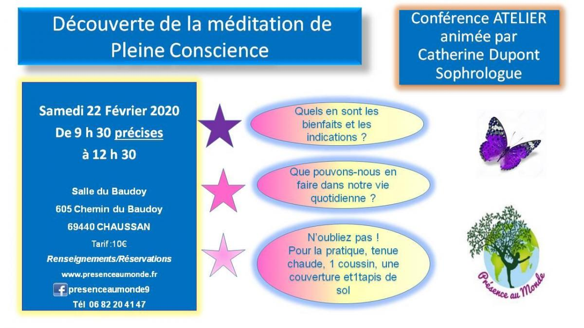 Conference catherine dupont meditation 2