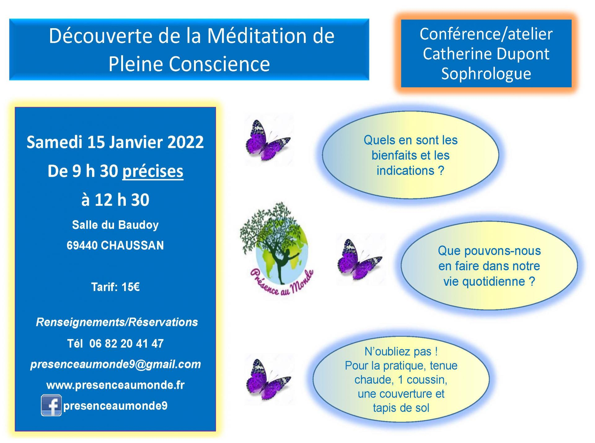 Conference catherine dupont