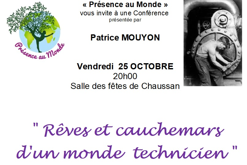 Image conference du 25 octobre